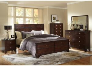 2180 Queen 7pc complete bedroom package,Life style