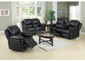 Leather Double Reclining/Gliding Sofa & Loveseat,Life style